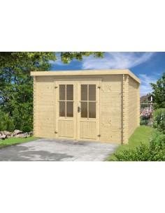 Abri de jardin toit plat cabane jardin toit plat - Cabane jardin toit plat pau ...