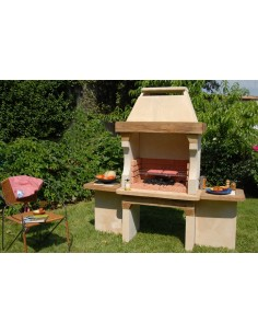 Barbecue Hacienda en béton charbon de bois