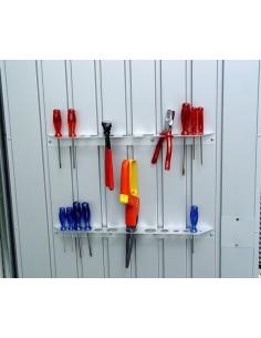 Supports de petits outils pour abri de jardin BIOHORT