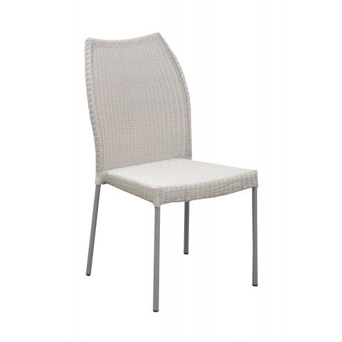 Chaise de jardin Angelicaen acier galvanisé et résine - Océo