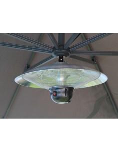 Chauffage pour parasol déporté avec lampe LED - Proloisirs