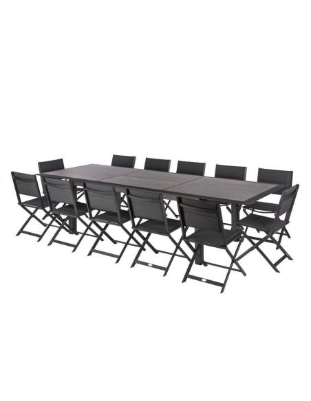 Table extensible Allure 216/316 cm en Aluminium et HPL - Hespéride