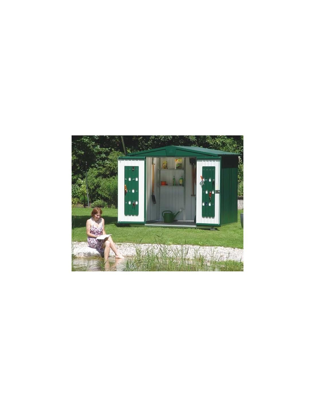 abri de jardin europa double portes biohort de 9 5 m. Black Bedroom Furniture Sets. Home Design Ideas