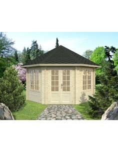 Tonnelles et kiosques mobilier de jardin abri de jardin - Tonnelle de jardin en bois pas cher ...