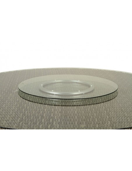 Plateau tournant verre diam. 70 cm - Hespéride
