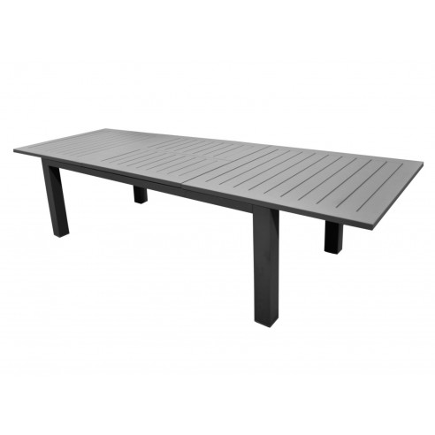 Table De Jardin Aluminium 12 Personnes.Table Aurore 12 Personnes Aluminium Ice Avec Allonge 214 311 X 110 Cm Oceo