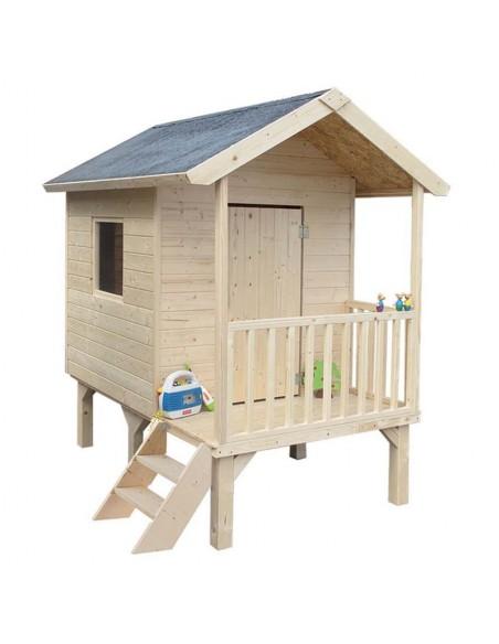 Maisonnette Kangourou en bois avec plancher