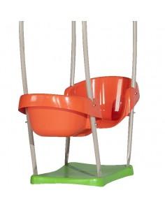 Nacelle au choix pour portique de jeux avec poutre bois