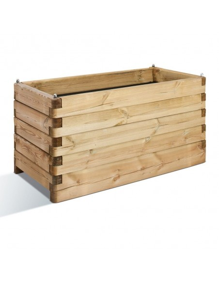 Jardinière OLEA 50x100 cm en bois traité autoclave