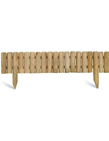 Bordure Quebec 120x20/35 cm en bois traité autoclave