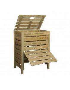Bac à compost 400L en bois traité