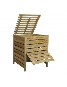 Bac à compost 800L Jardipolys en bois traité
