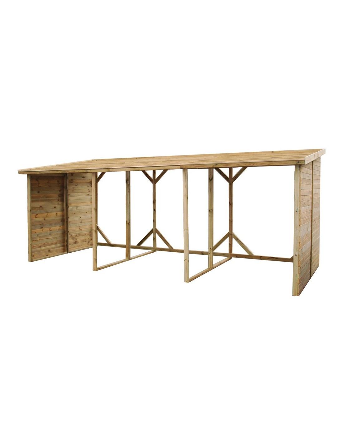 abri b ches xxl jardipolys capacit 20 st res. Black Bedroom Furniture Sets. Home Design Ideas