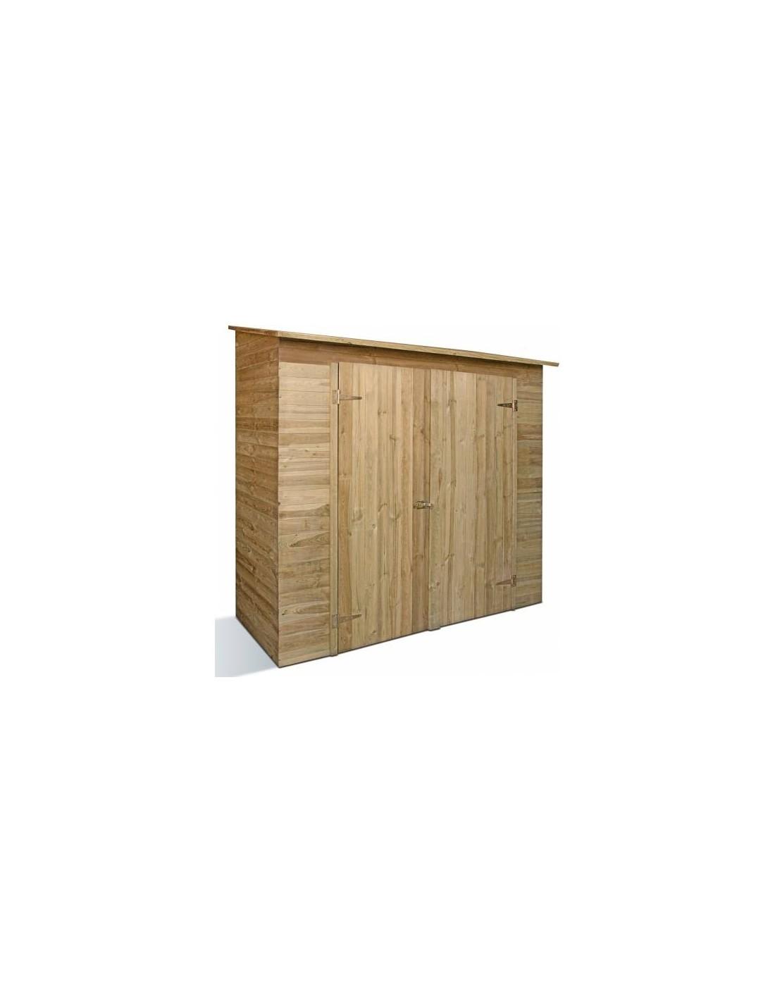 armoire murale savona jardipolys bois trait autoclave. Black Bedroom Furniture Sets. Home Design Ideas