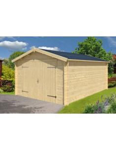Garage Mauritius 16.8 m² - Bois massif  28 mm