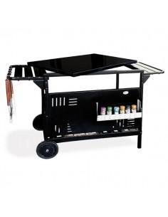 Chariot GM SERVANTE barbecues à encastrer ou à poser en acier Delta