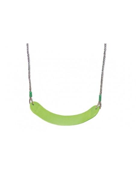 Balançoire souple vert pomme réglable pour portique H1.9/2.5 m