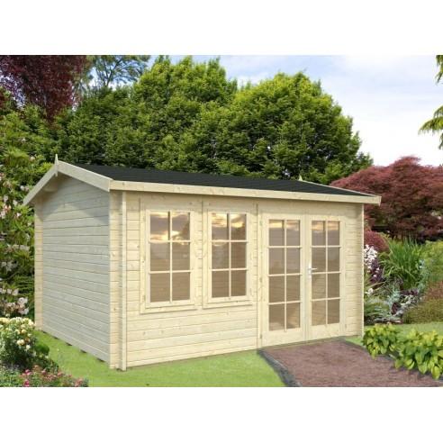abri de jardin iris 11 7 m avec plancher serres et abris. Black Bedroom Furniture Sets. Home Design Ideas