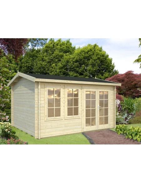 Abri de jardin iris 11 7 m avec plancher serres et abris - Abri de jardin avec plancher ...
