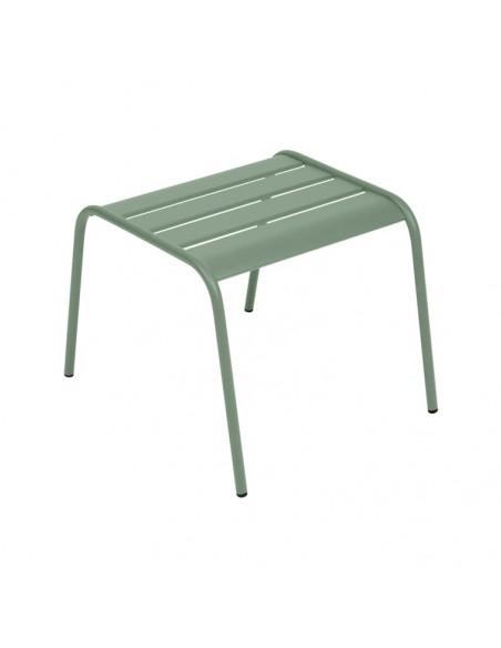 Table basse repose-pieds Monceau Cactus métal empilable - Fermob