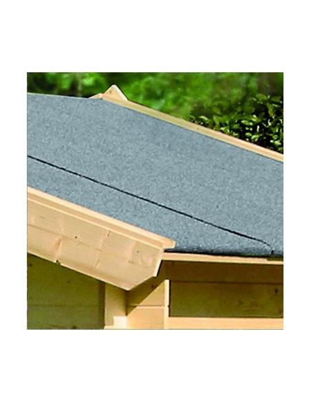 Couverture de toit bitumée noire dimensions au choix