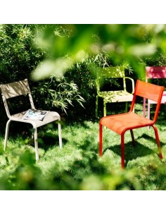 Table ol ron aluminium 205x100 cm fermob for Entretien jardin oleron