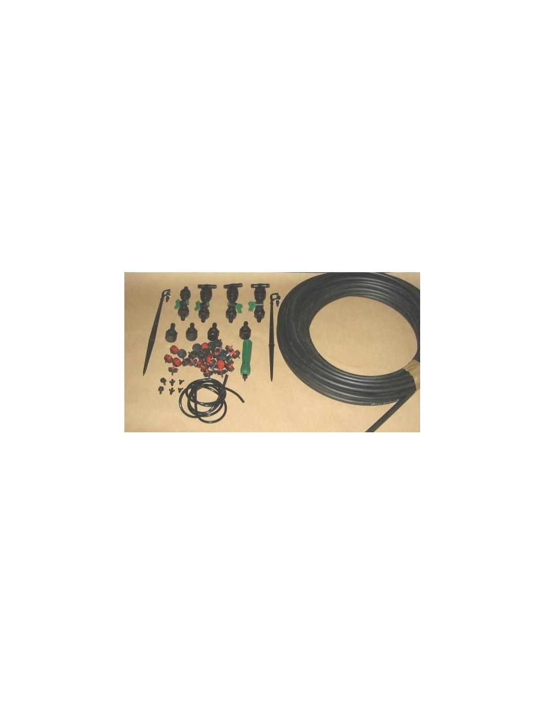 Kit d 39 arrosage pour tous types de serre en tunnel - Serres adossees en kit ...