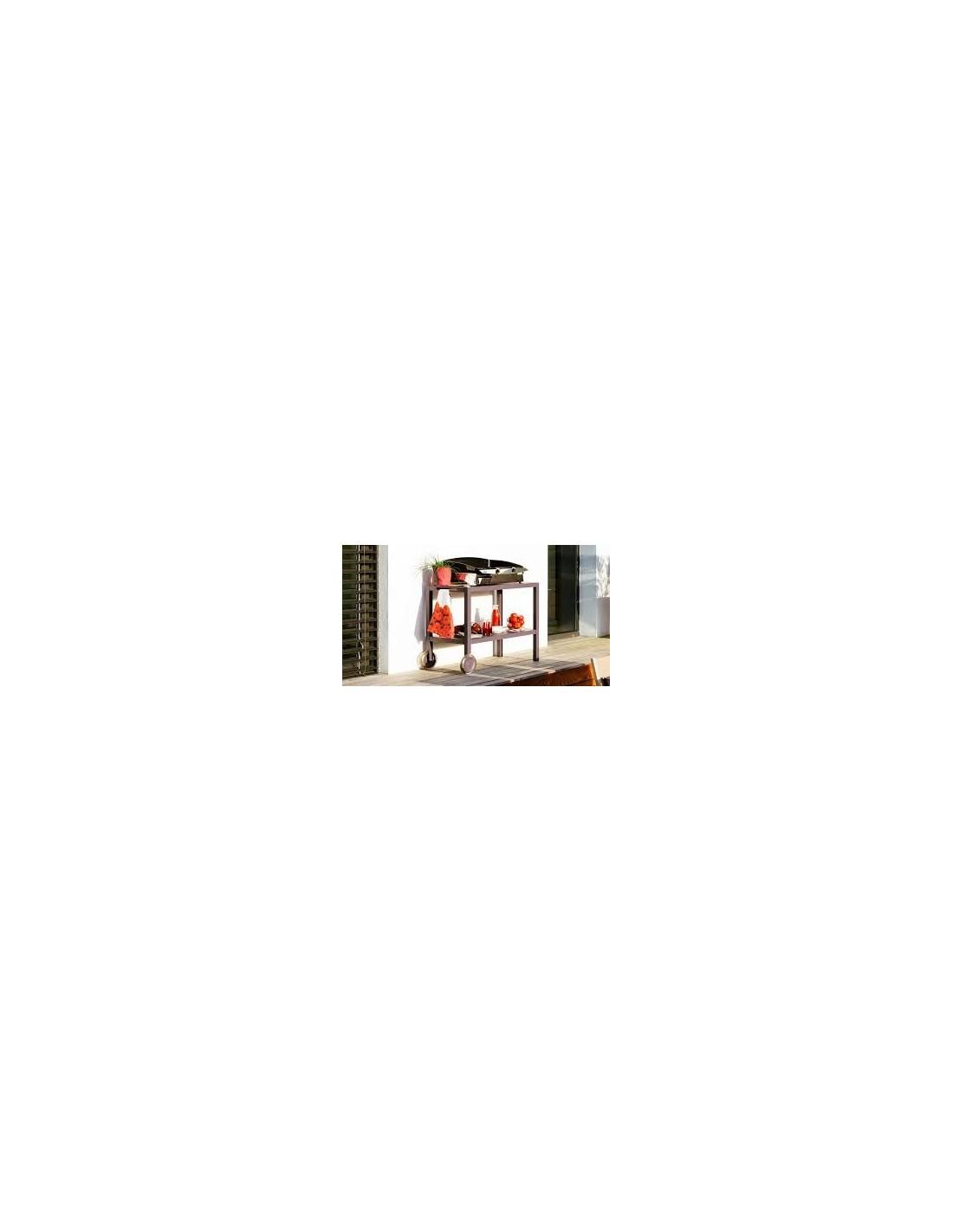 desserte pour plancha quiberon fermob. Black Bedroom Furniture Sets. Home Design Ideas