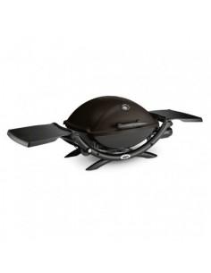 Barbecue à gaz Q 2200 noir- Tablettes rabattables - Weber