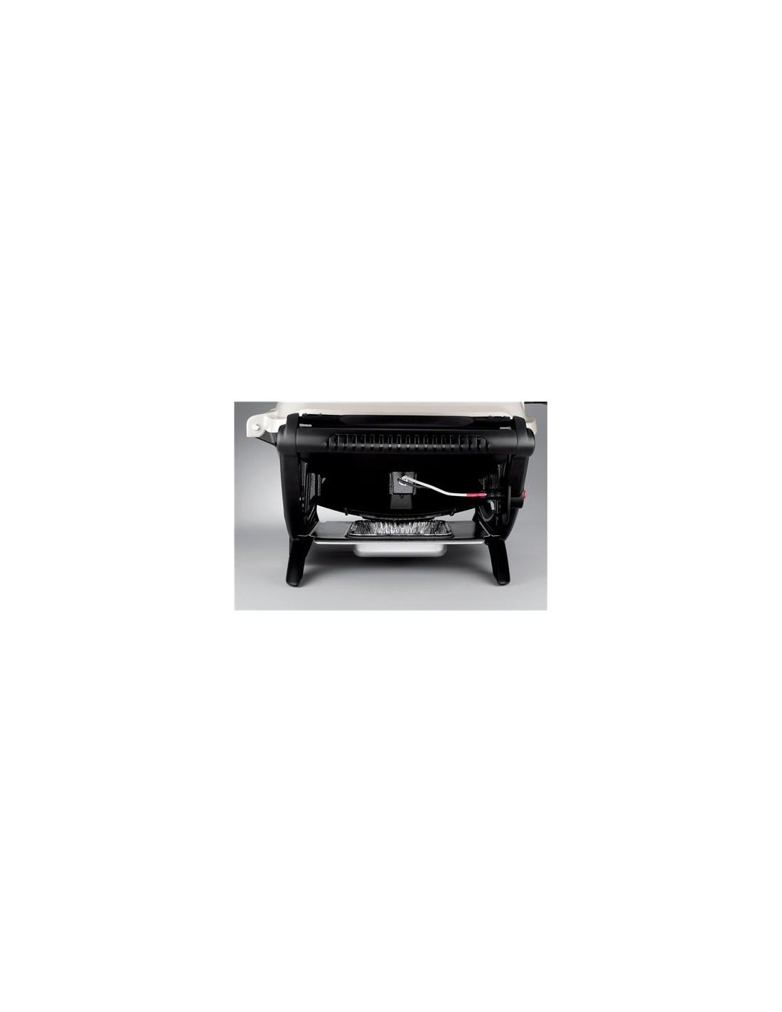 Barbecue gaz q2200 black noir weber avec thermom tre integr - Barbecue weber gaz ...
