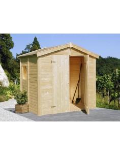Abri de jardin Ralf 7.6 m² - Bois massif 28 mm