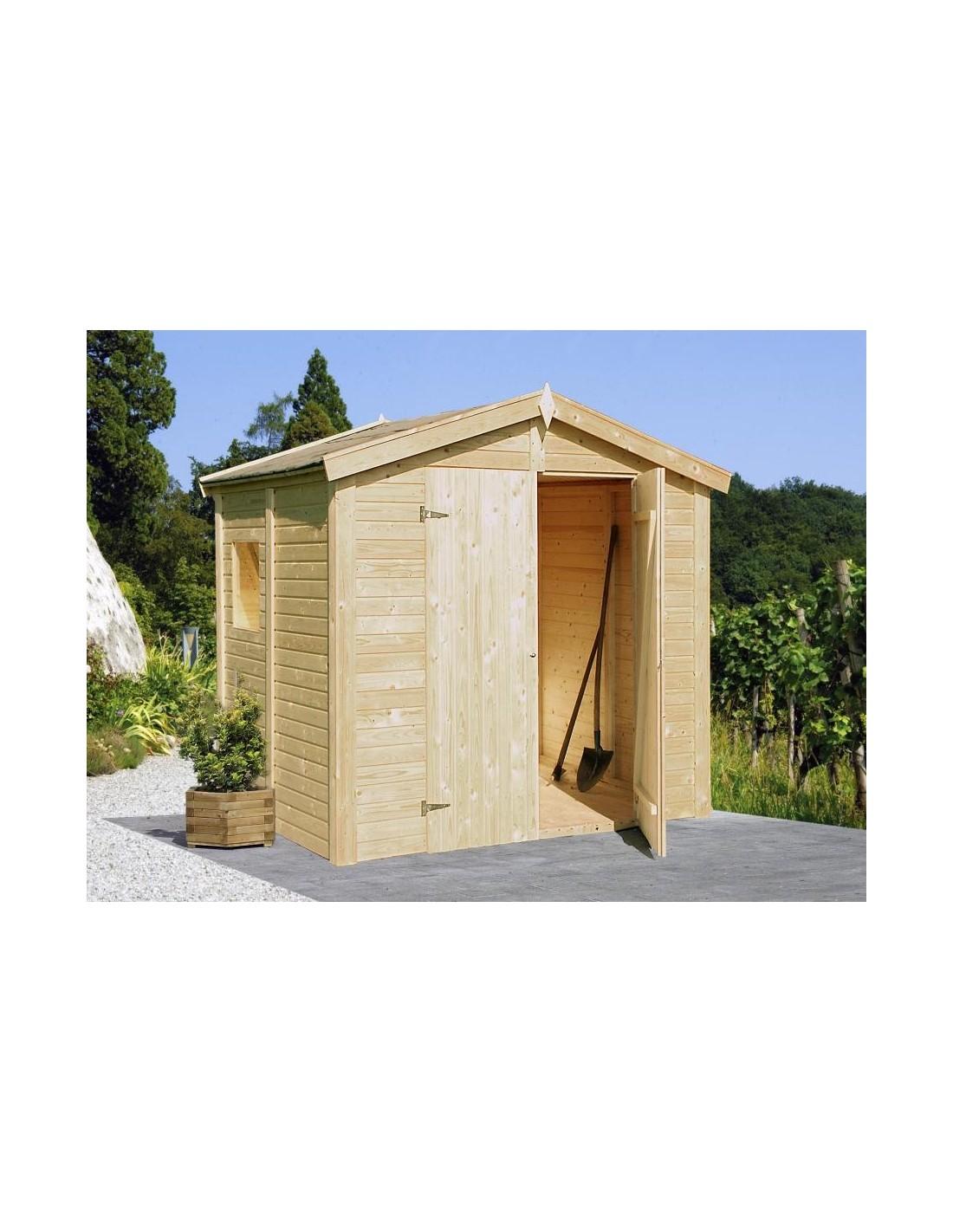 Abri de jardin dan 4 6 m avec plancher serres et abris - Abris de jardin avec plancher ...