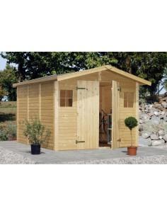 Abri de jardin Dan 7.7 m² avec plancher