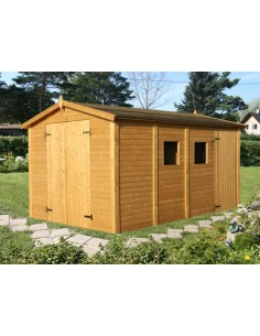 Abri de jardin Dan 10 m² avec plancher