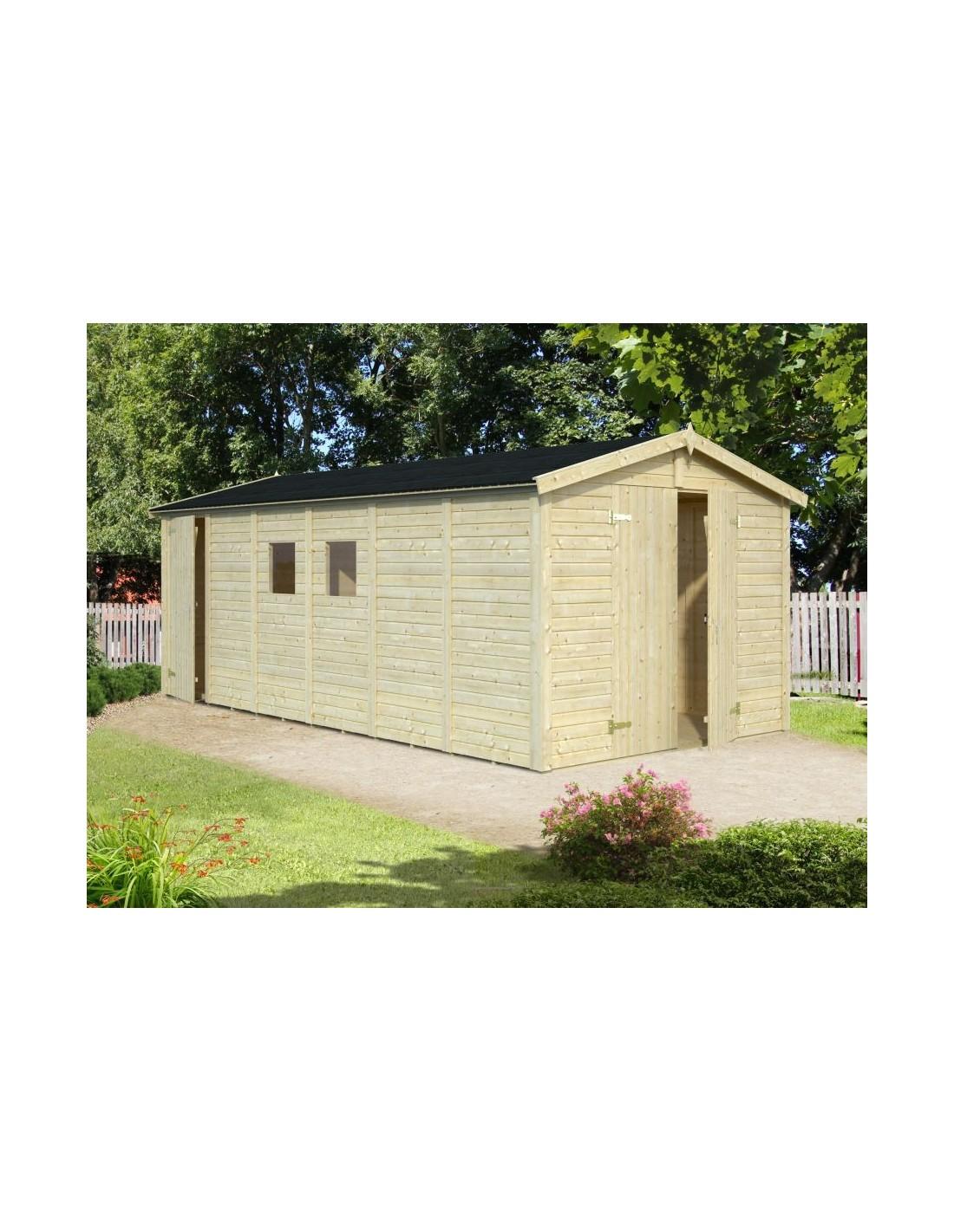 abri de jardin dan 14 2 m avec plancher serres et abris. Black Bedroom Furniture Sets. Home Design Ideas