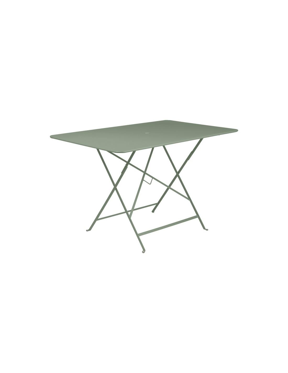 table pliante m tal rectangle 117x57cm bistro 6 places fermob. Black Bedroom Furniture Sets. Home Design Ideas