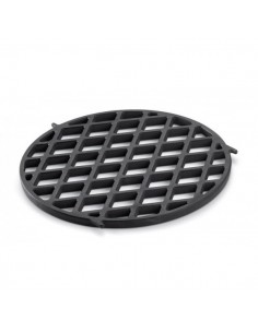 Grille de saisie gourmet barbecue system (GBS) pour barbecue weber