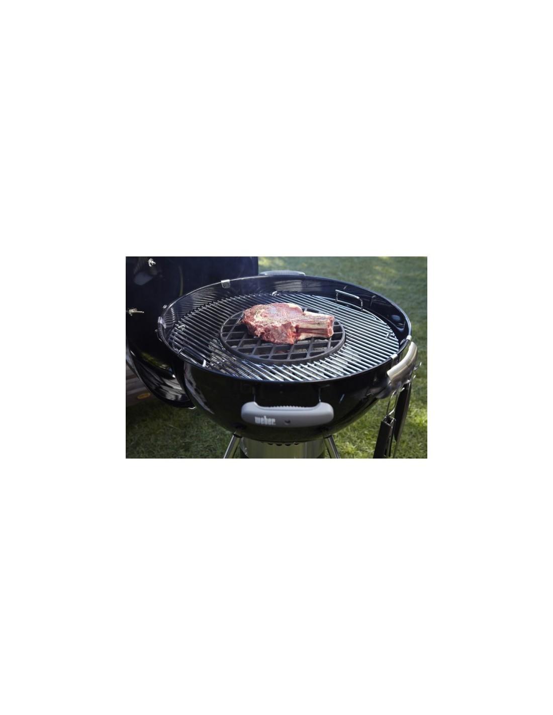 Grille de saisie weber en fonte d 39 acier pour gourmet bbq system - Grille en fonte pour barbecue ...