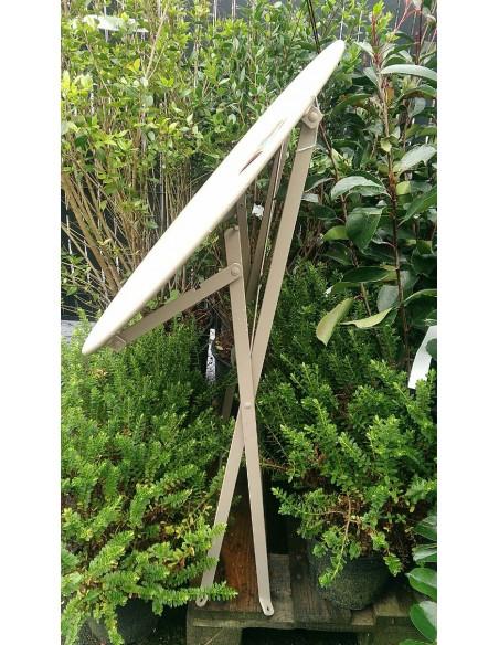 Table pliante métal ronde Ø60cm Bistro - 2 places - Fermob