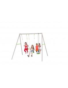 Portique Louise métal 2.20 m - Enfants 3/12 ans