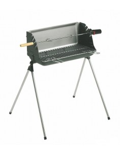 Barbecue à charbon Nairobi - Cuve fonte - Invicta