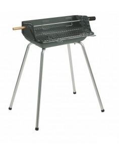 Barbecues fonte MOMBASSA - sur pieds - bois charbon de bois - Invicta