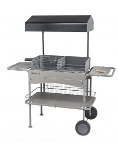 Barbecue à charbon Grilladin de luxe - Cuve fonte - Invicta