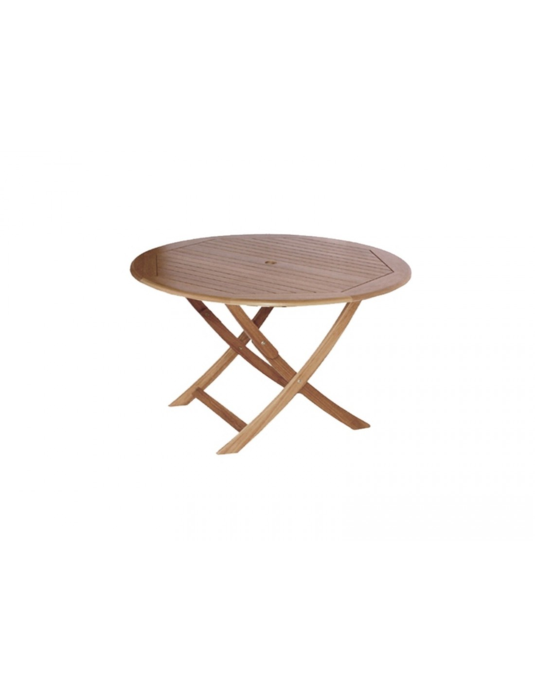 Table sophie pliante en bois d 39 eucalyptus proloisirs for Table de jardin pliante