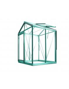 Serre Piccolo ACD 2.35 m² en verre trempé sécurit 4 mm