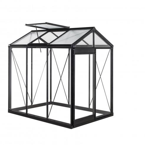 serre piccolo acd 3 6 m verre tremp s curit parois droites. Black Bedroom Furniture Sets. Home Design Ideas
