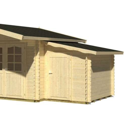 Annexe latérale de stockage 3.1 m² 4 versions au choix