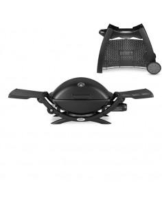 Barbecue à gaz Q2200 Black avec chariot Q