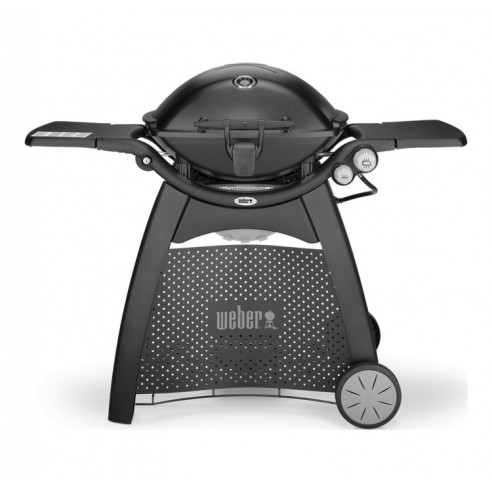 Barbecue à gaz Q3200 Black avec chariot et lampe Weber