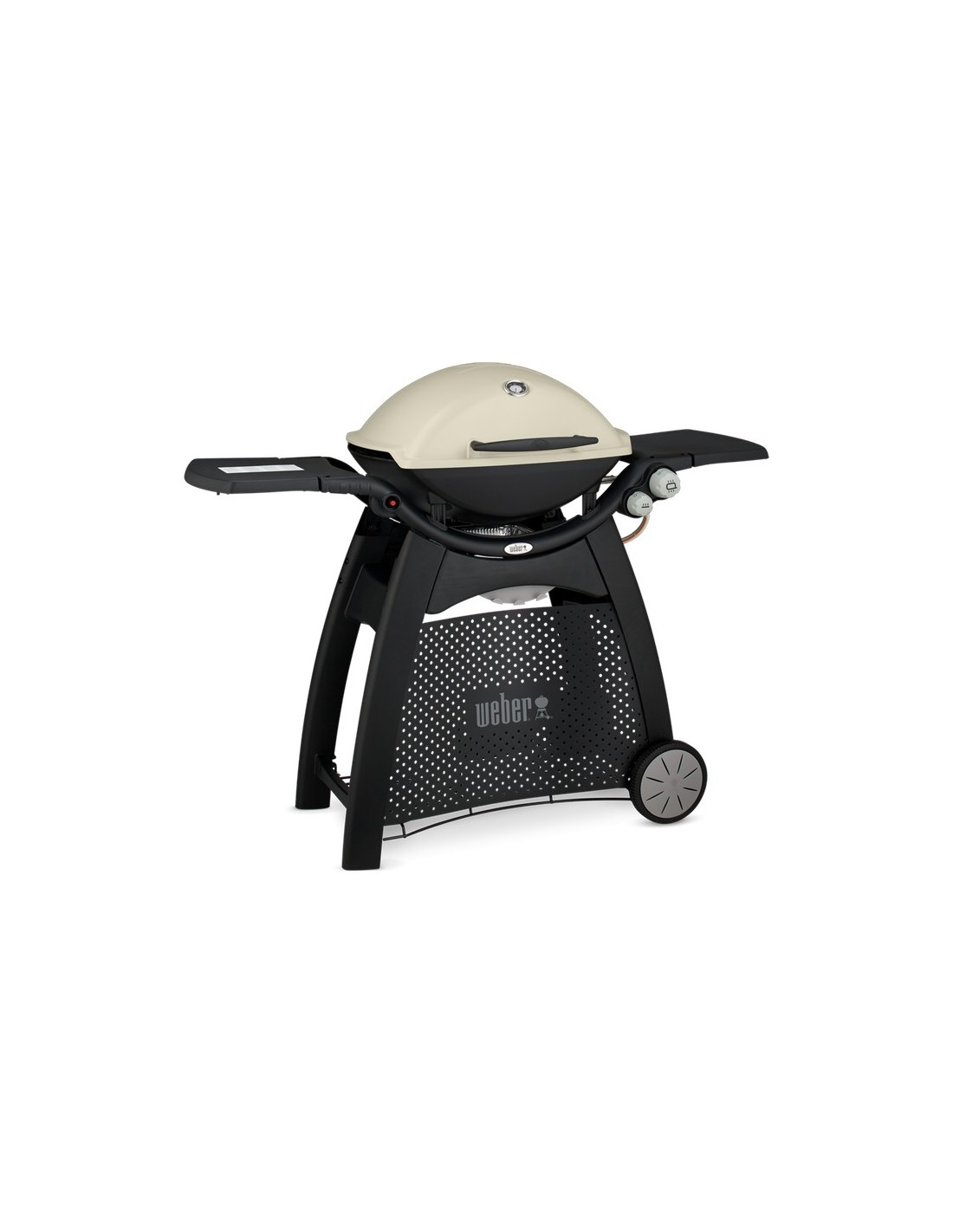 barbecue gaz q 3000 titanium avec chariot weber. Black Bedroom Furniture Sets. Home Design Ideas